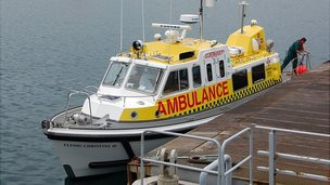 Flying Christine III, Guernsey's marine ambulance
