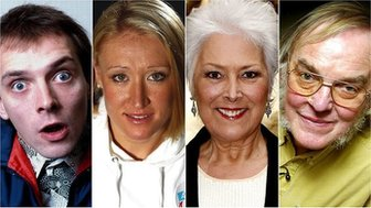 Rik Mayall, Elena Baltacha, Lynda Bellingham, Colin Pillinger