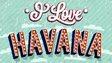 I love Havana postcard
