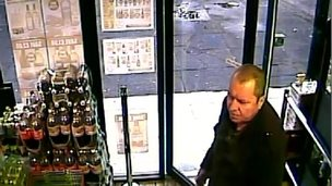 The last public sighting of Mr McAfee was in an off-licence on the Cavehill Road