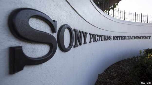 The Sony Pictures headquarters in California