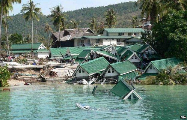 Boxing Day Tsunami: A survivor's story - BBC News