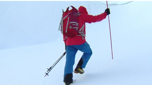 VIDEO: How to predict an avalanche...