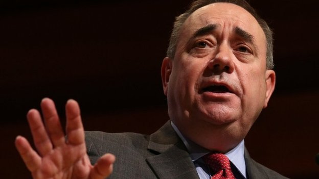 Salmond calls for English referendum...