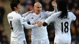 Ki Sung-Yeung and Jonjo Shelvey