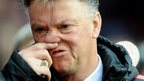 VIDEO: Draw leaves Van Gaal 'frustrated'