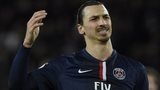 PSG striker Zlatan Ibrahimovic