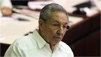 The Cuban President, Raul Castro