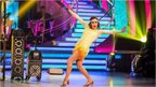 BBC handout photo of Caroline Flack on the live show of the BBC programme Strictly Come Dancing