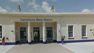 Canterbury West railway station