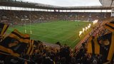 Wasps fans at the Ricoh Arena