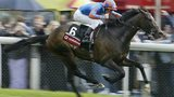 High Chaparral winning the Derby at Epsom