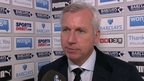 VIDEO: Defeat by Sunderland hurts - Pardew