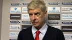 VIDEO: Wenger disappointed by free header
