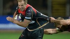 Ashley Smith in action for the Newport Gwent Dragons