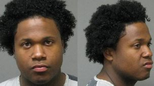 This 2009 photo provided by the Springfield, Ohio Police Department shows Ismaaiyl Brinsley after an arrest on a robbery charge.