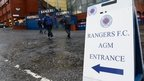 Fans voice anger at Rangers' AGM