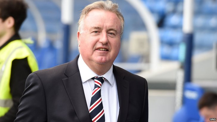 Rangers chairman David Somers