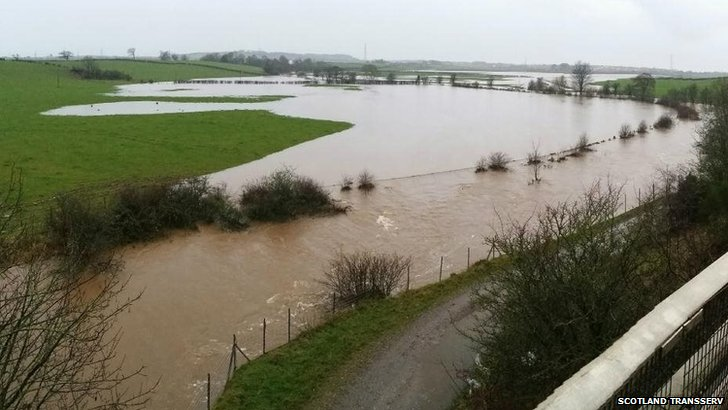 Flooding from Cessnock water