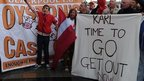 Blackpool supporters campaign against Karl Oyston