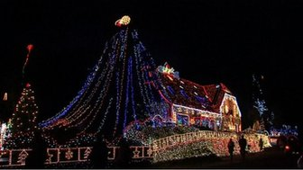 The house with 400,000 lights