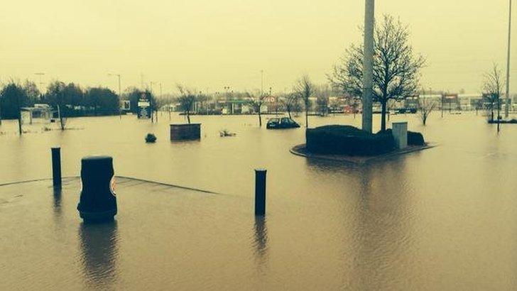 Waterlogged in Kilmarnock
