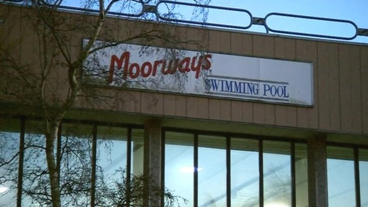 Moorways swimming pool