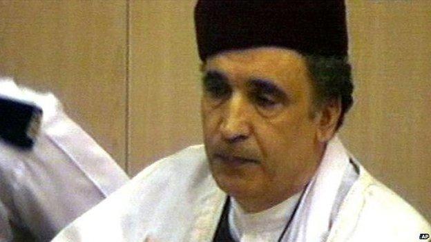 File photograph of Abdelbaset al-Megrahi