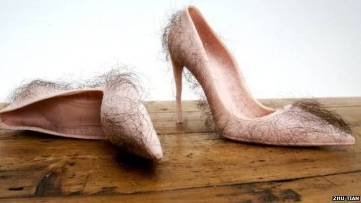 Hairy shoes
