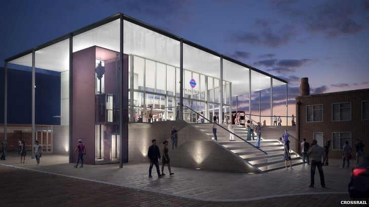 Hayes and Halington station proposal