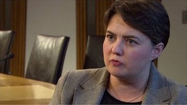 Ruth Davidson Interview
