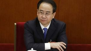 """Ling Jihua, newly elected vice chairman of the Chinese People""""s Political Consultative Conference (CPPCC) attends the opening ceremony of the CPPCC at the Great Hall of the People in Beijing in this March 3, 2013 file photo."""