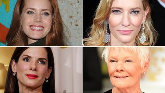 Amy Adams, Cate Blanchett, Sandra Bullock and Dame Judi Dench