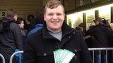 Yeovil Town fan James Krzyzanowski