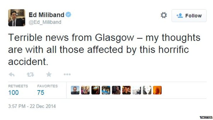 Ed Milliband tweet screengrab