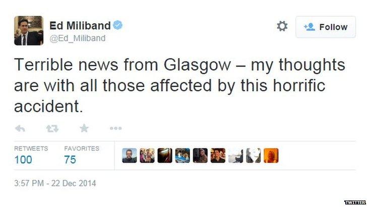 Ed Milliband tweet screengrab