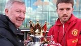 Sir Alex Ferguson and Michael Carrick