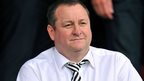 Newcastle owner and Rangers investor Mike Ashley