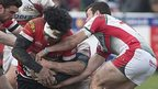 Plymouth Albion lost 26-20 when they last played Cornish Pirates in March 2014