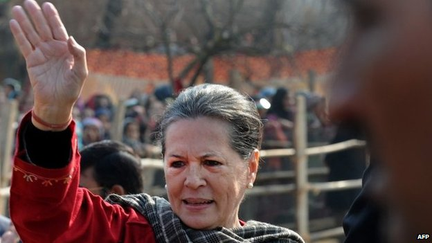 Sonia Gandhi, 10, December 2014