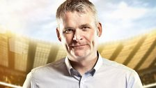 Match of the Day commentator Guy Mowbray