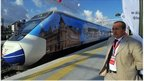 High-speed train in Turkey