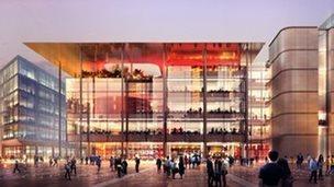 new BBC HQ