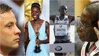 Oscar Pistorius, Lupita Nyong'o, Dennis Kimetto and Robert Mugabe