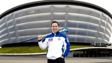 Scotland skip David Murdoch at the SSE Hydro - venue for the 2020 World Men's Championship