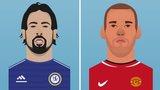 Sami Khedira and Wesley Sneijder