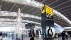 Heathrow Airport at Christmas