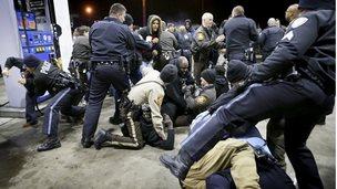 Protests in Berkeley