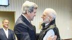 John Kerry and Alan Gross