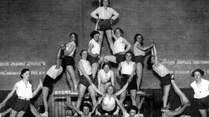 Sheffield League of Health and Beauty display, 1930s